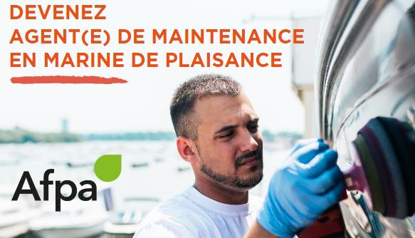 Devenez agent(e) de maintenance en marine de plaisance