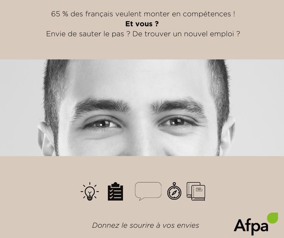 Montez en compétences à l'Afpa Pays de la Loire
