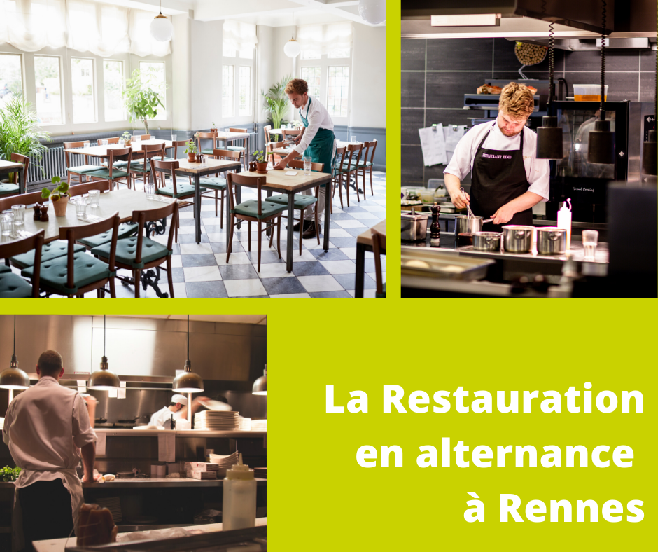La Restauration en alternance à Rennes