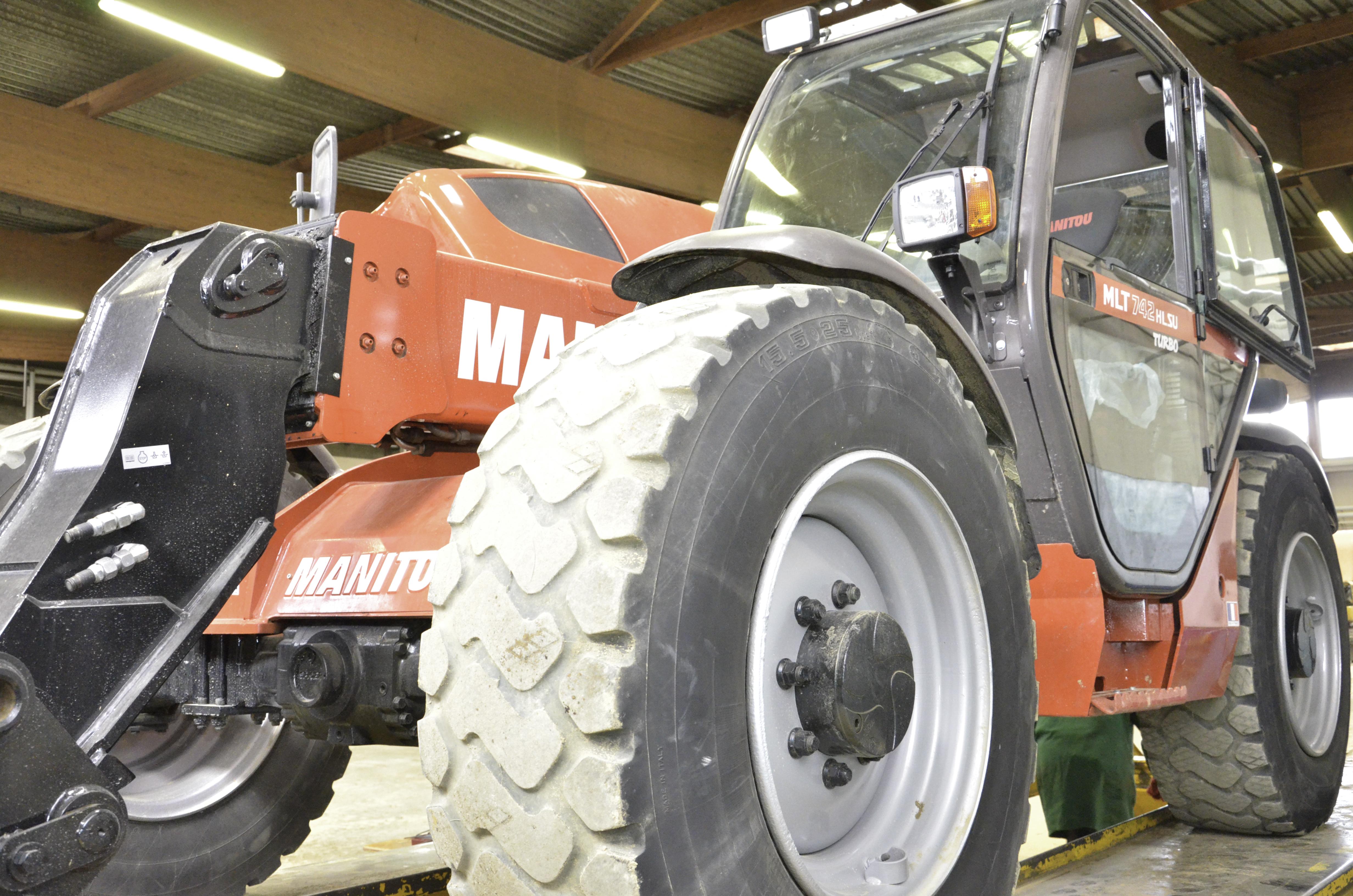 Devenez Technicien de maintenance d'engins et de  matériel de chantier et de manutention