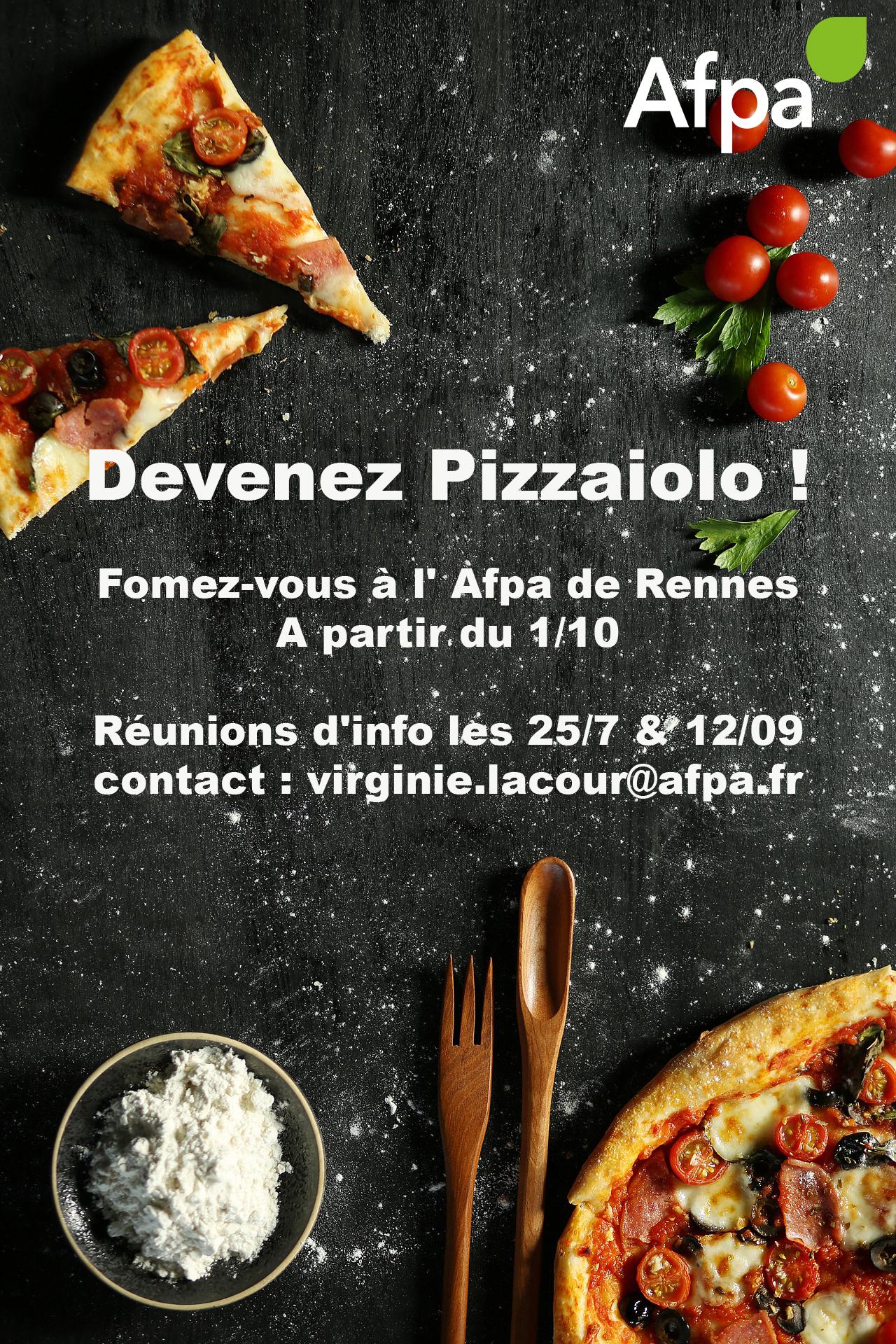 Devenez Pizzaiolo ! On vous forme